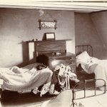 Image for the Tweet beginning: Unmade beds in Grant's #ThrowbackThursday