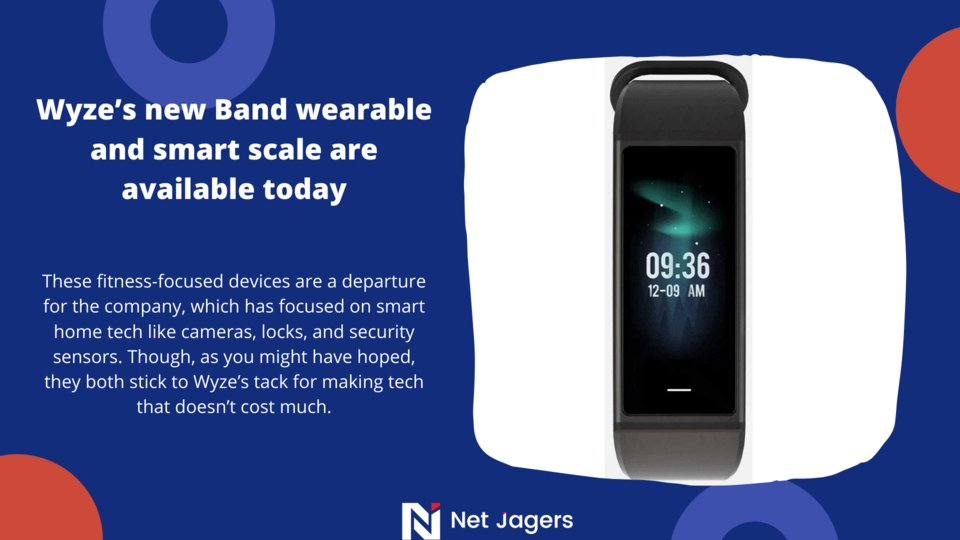 Wyze's new Band wearable and smart scale are available today.  #security #smarthometech #cameras #smarthome #devices #iot #sensors #wireless #smart #wearable #locks #smartwatch #wyze #bands #fitnessgoals #smartwatches #watches #digitaltransformations #techcommunitypic.twitter.com/6Qv0uuGFde