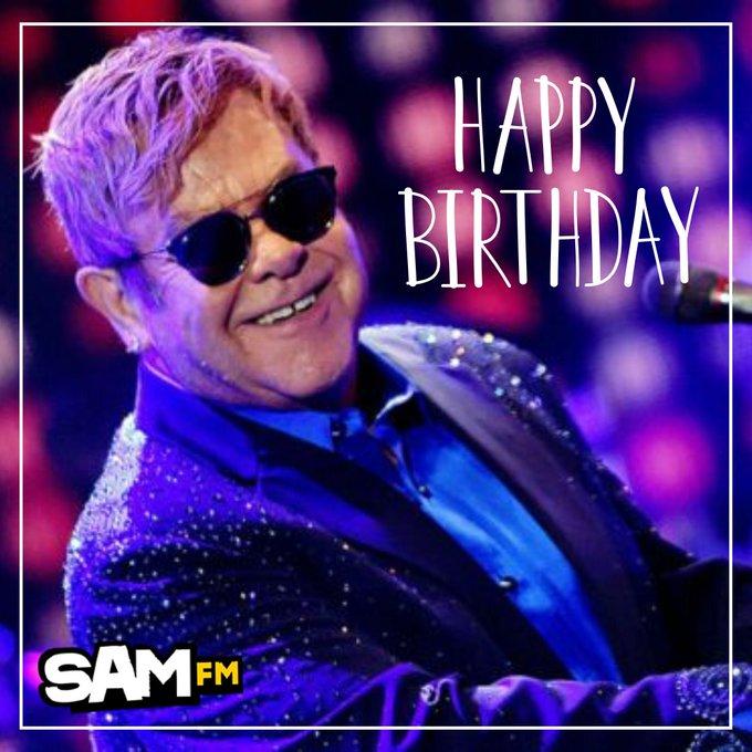 Happy 73rd birthday Sir Elton John! What\s your all-time favourite Elton track?