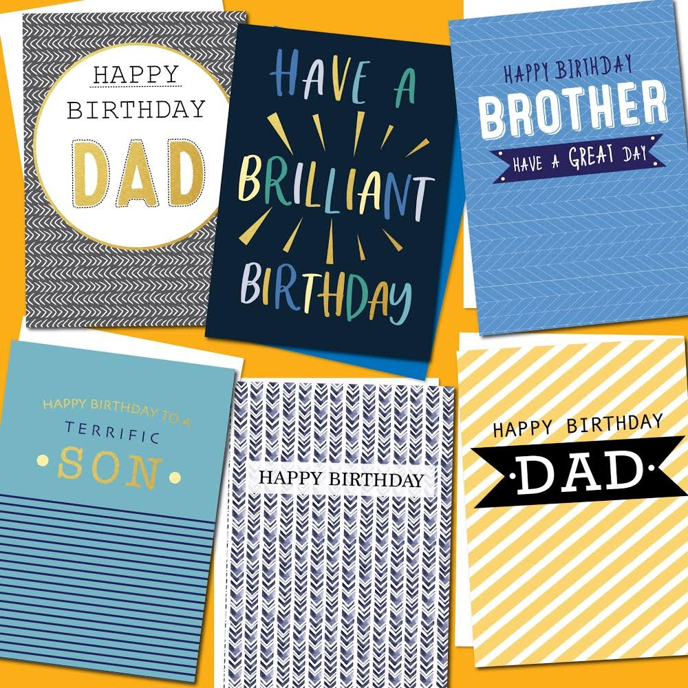 Say hello to even more new designs for the gentlemen in your life, available in a convenience store near you!   #greetingcards #greetingcarddesign #greetings #greetingscards #shoplocal #conveniencestore #convenience #malebirthday #happybirthday #new #newdesigns pic.twitter.com/GjTGVs6Q3n