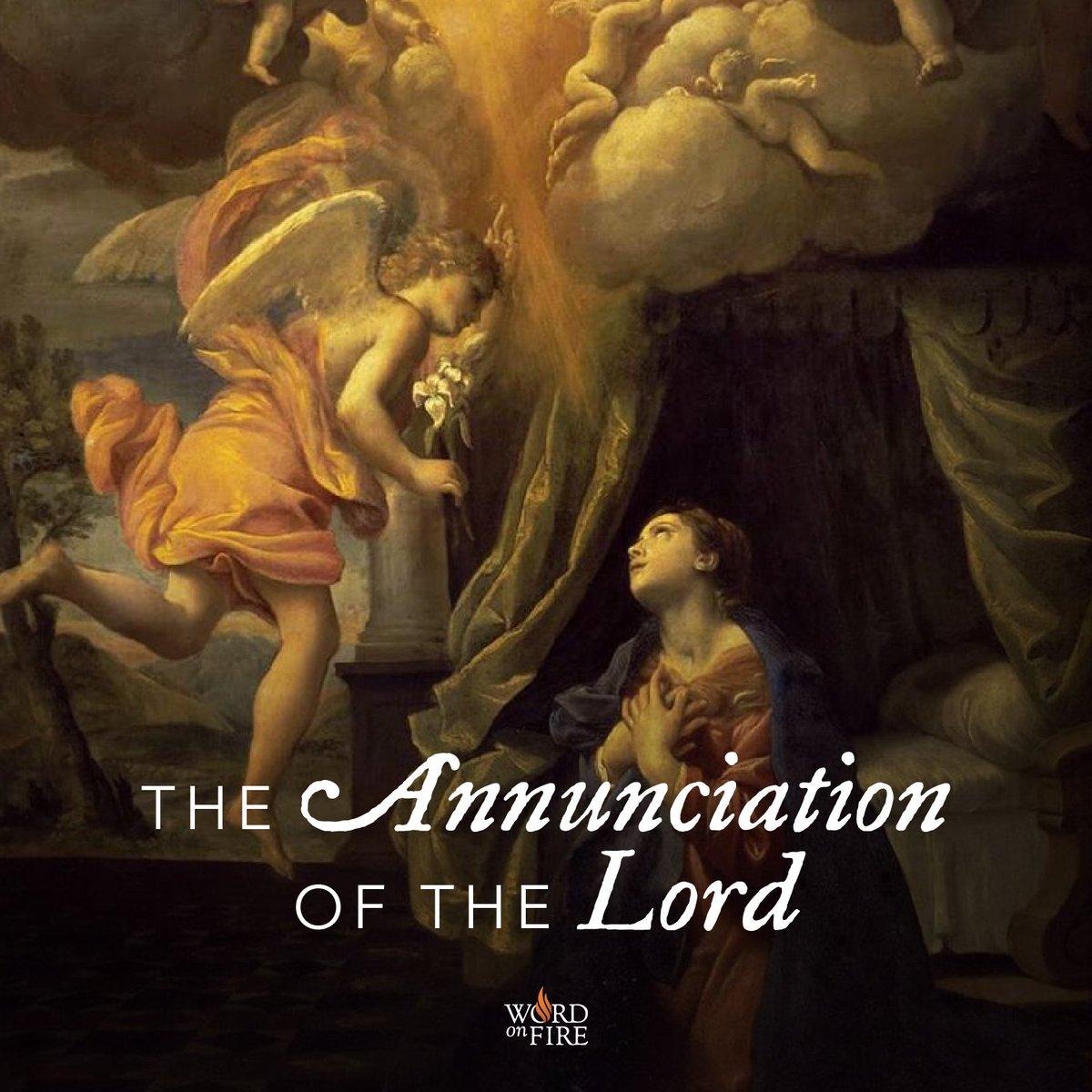 @BishopBarron's photo on #Annunciation