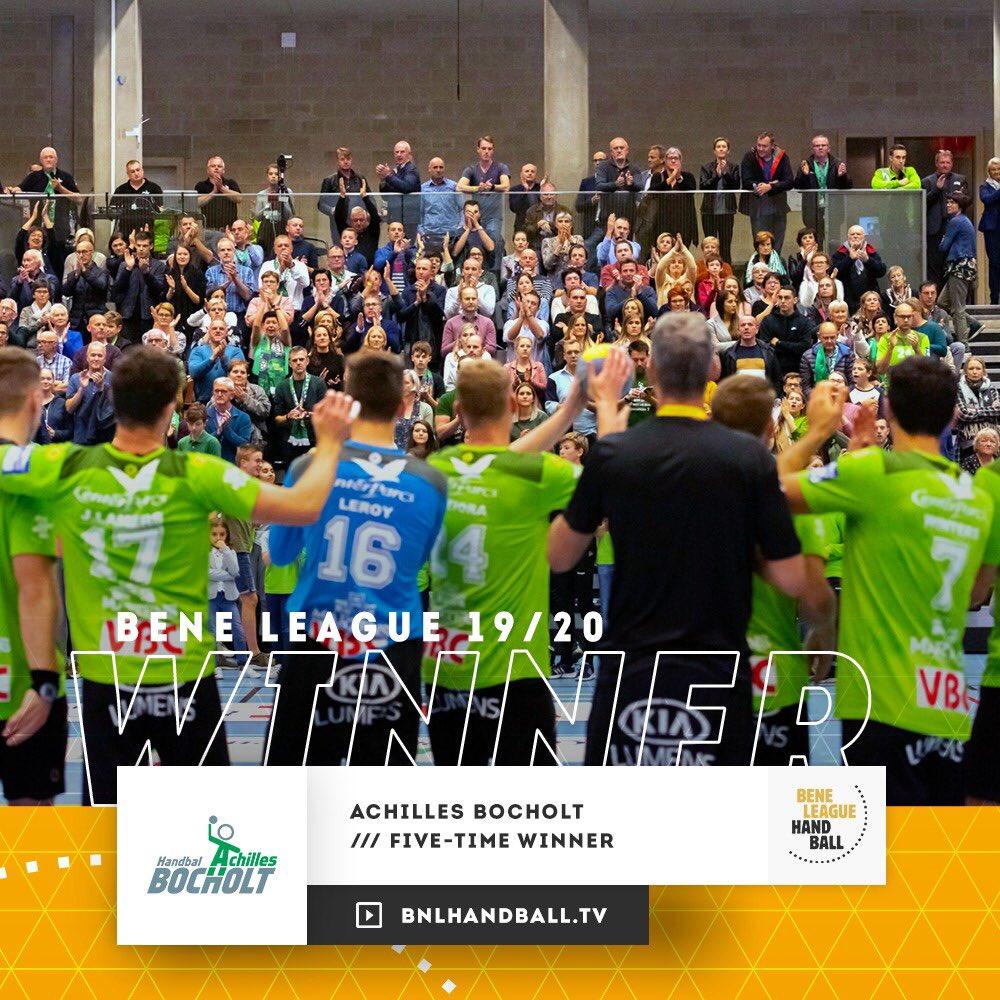 "BENE-League Handball on Twitter: ""‼️🏆 Achilles Bocholt winnaar ..."