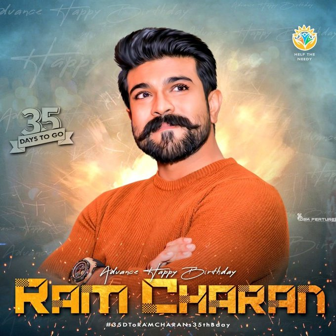 Advance Happy Birthday  To U RAM CHARAN