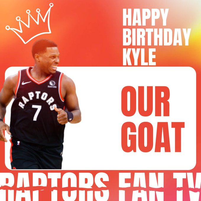 Happy Birthday to our GOAT Kyle Lowry