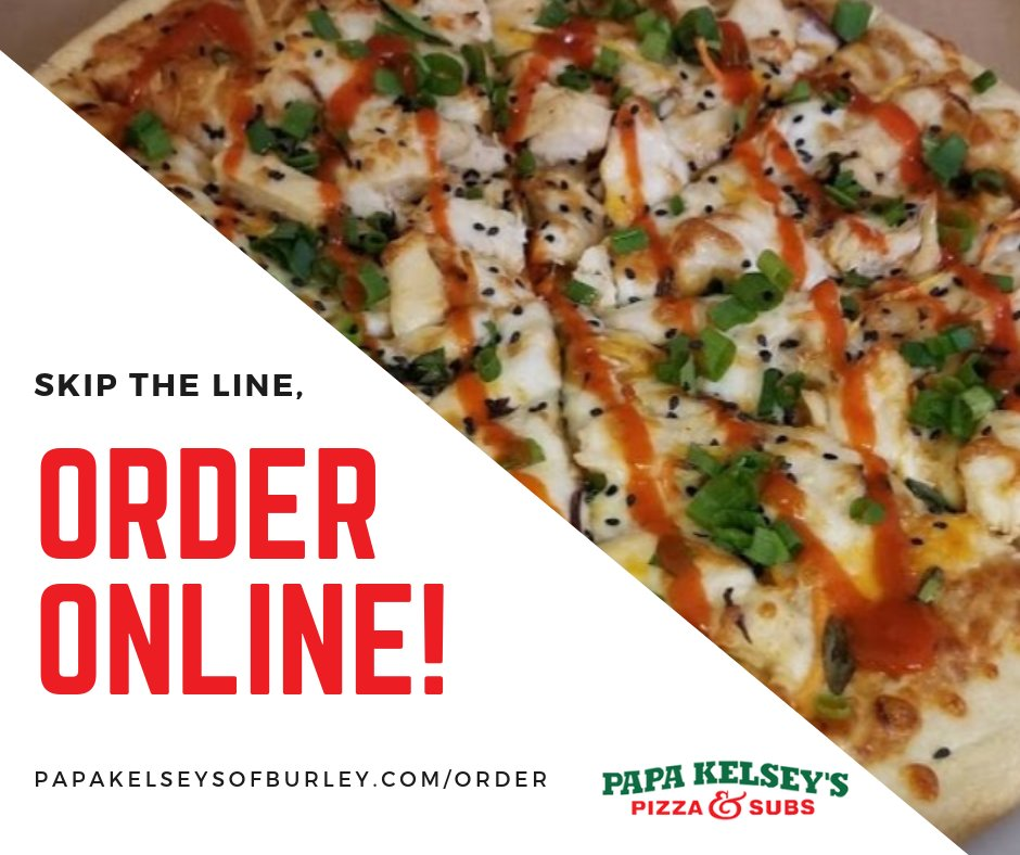 Bring home the bacon... on your Pizza  . ORDER NOW http://papakelseysofburley.com/order  - #PapaKelseys #Pizza #Subs #BurleyID #Delicious #BurleyEats #IDEats #IdahoEats #Eeeeats #Yummy #Yumpic.twitter.com/aMKdXyShTI