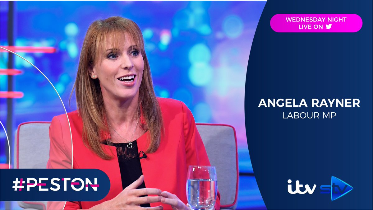 Also joining @AnushkaAsthana and @Peston tonight is @UKLabour MP @AngelaRayner Well be speaking about the importance of the UK social care system, #nhsvolunteers and the safety of all key workers 🔴 Live 1045pm on Twitter via @itvpeston, @ITV & @WeAreSTV #peston #Asthana