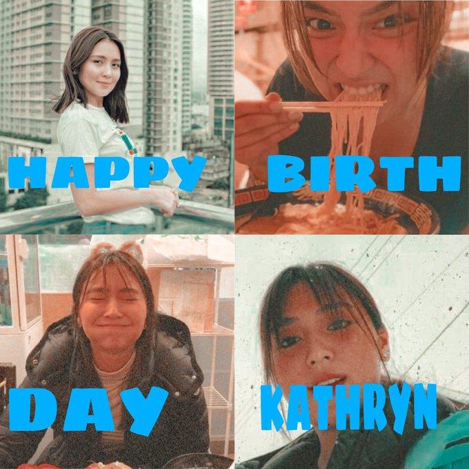 HAPPY BIRTHDAY KATHRYN BERNARDO    n HAPPY KN\S DAAYYY