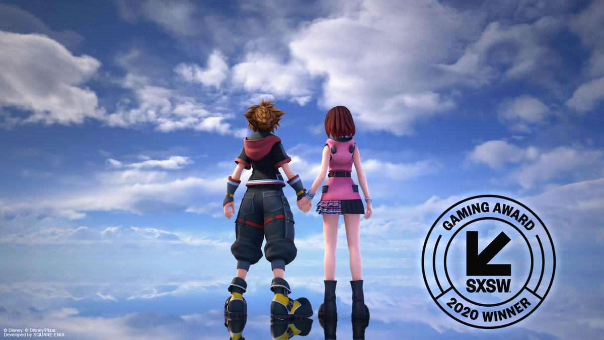 We're so excited to share that #KingdomHearts III has won the award for Excellence in Animation at the 2020 #SXSW Gaming Awards!   Please help us congratulate our amazing team of animators who made this happen! https://t.co/eyWsJgWFZa