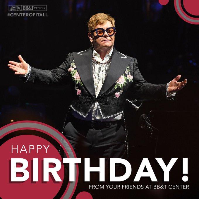 Happy Birthday, Sir Elton John!