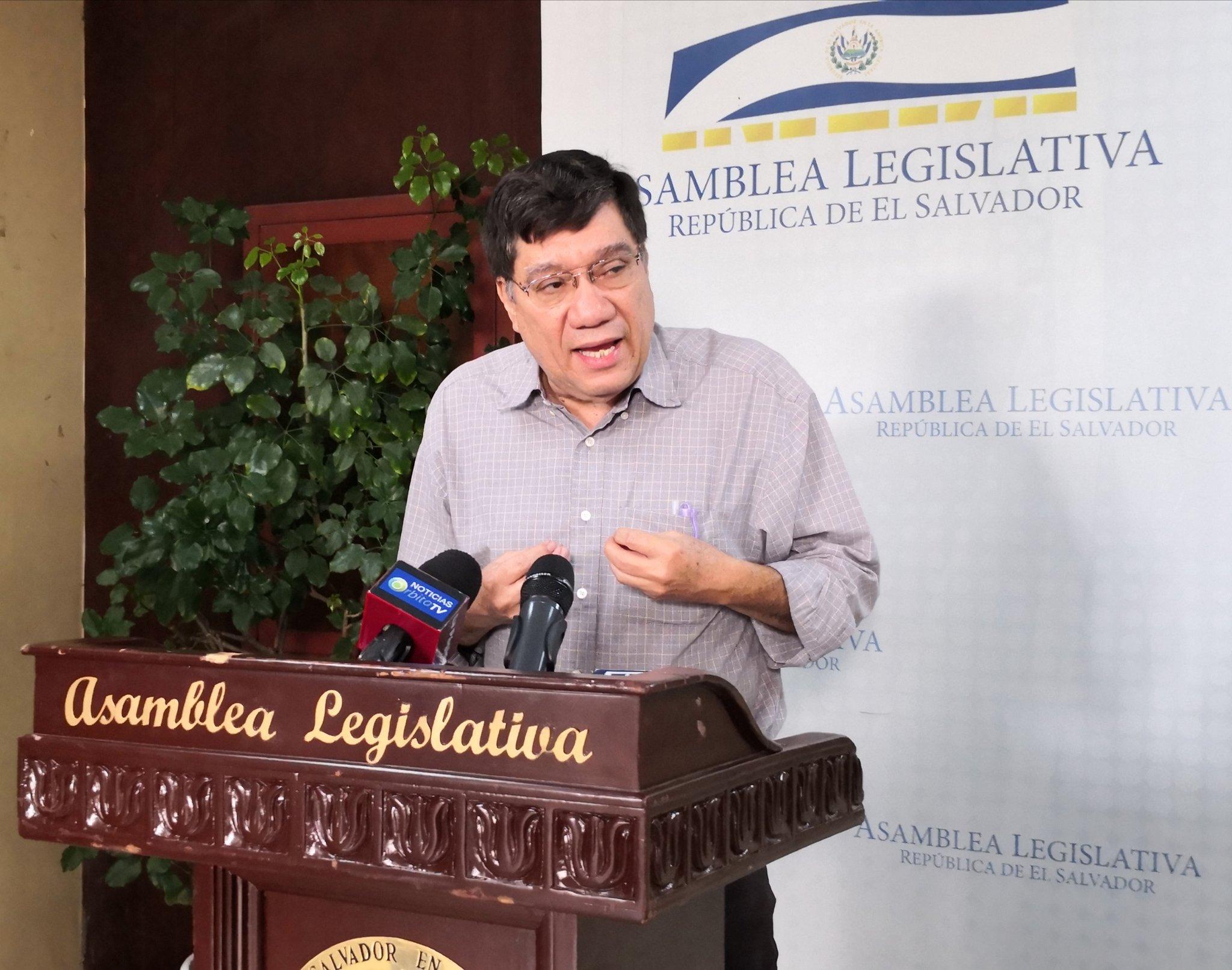Martel: Arena quiere apropiarse de los $2,000 millones que pide Bukele