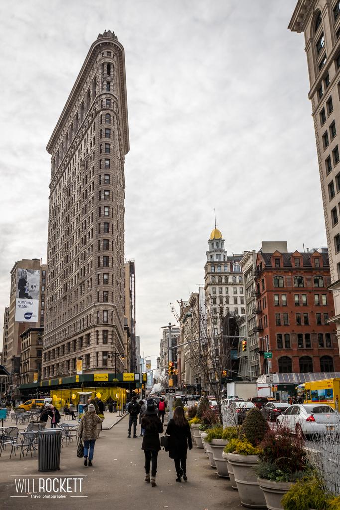 Flatiron Building in New York, New York 🇺🇸