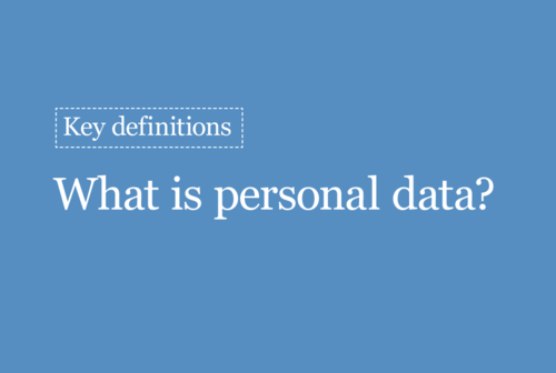 ✅ANSWER – False Pseudonymisation is effectively only a security measure. It doesn't change the status of the data as personal data. See here for more: ico.org.uk/for-organisati…