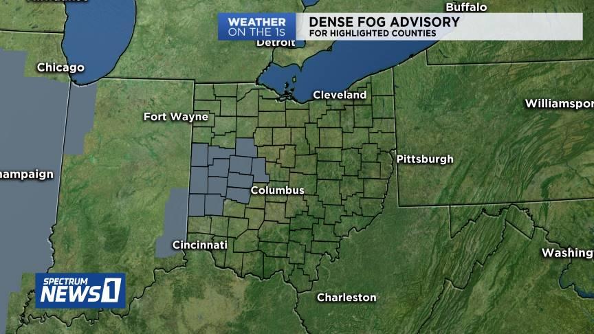@SpectrumNews1OH's photo on Dense Fog Advisory