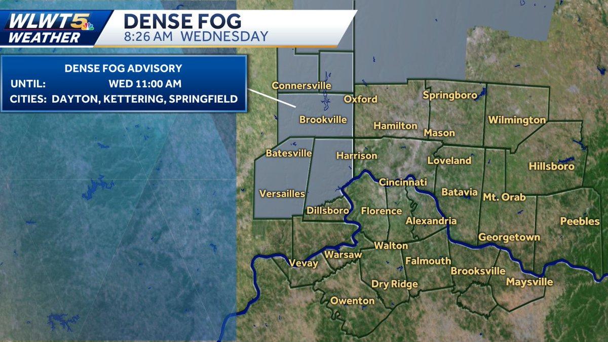 @WLWT's photo on Dense Fog Advisory