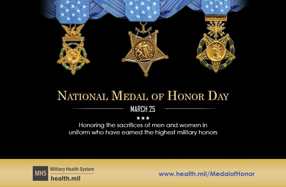 @DoD_DHA's photo on #MedalofHonorDay