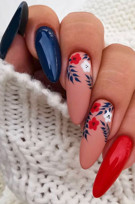 Absolutely beautiful!  Why not follow our Instagram Page @byvixi_ for more looks! - 60% OFF GEL POLISH - SALE ENDS SOON! -  Visit http://www.ByVixi.com   #byvixi #byvixinailboss #byvixisass #nailaddict #naillove #nailart #fashion #stickonnails #ovalpic.twitter.com/BCMP2eQXbM