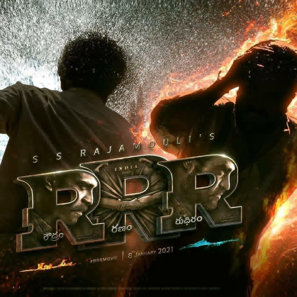 #RRR #RRRTitleLogo #RRRTheMovie #RRRMotionPosterToday #JrNTR #RoudramRanamRudhiram #RaiseRoarRevolt #RamCharanpic.twitter.com/oAUkNe7mw9