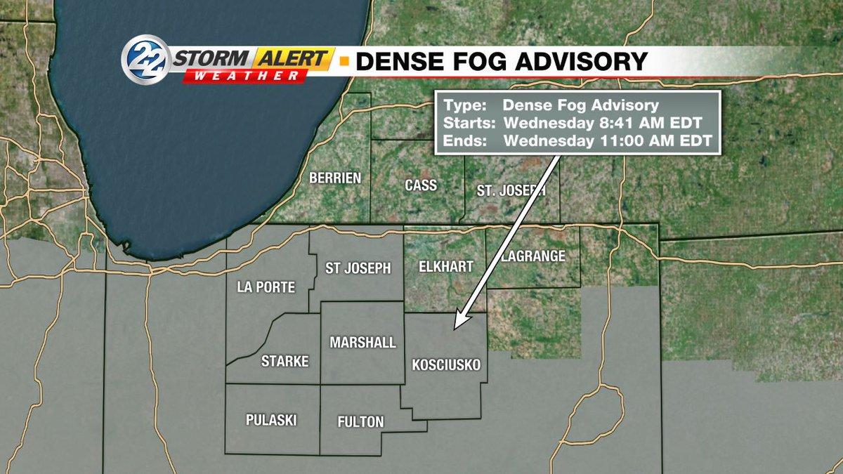 @AbbyWepplerWSBT's photo on Dense Fog Advisory