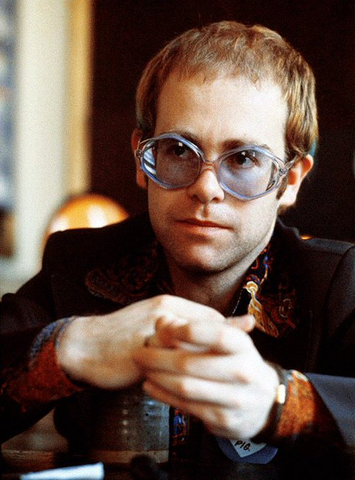 Happy birthday to English singer, songwriter, pianist, and composer Elton John, born March 25, 1947.