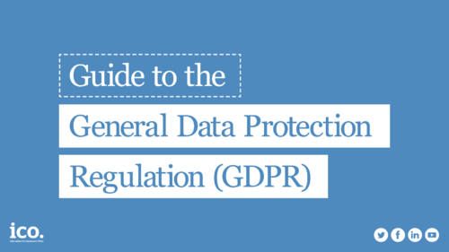 So how did you do? Anyone get full marks? If you feel you need to brush up, look at the Guide to the GDPR: ico.org.uk/for-organisati… If theres a specific area youd like to focus on check our Whats new, where we list our latest detailed guidance pages: ico.org.uk/for-organisati…