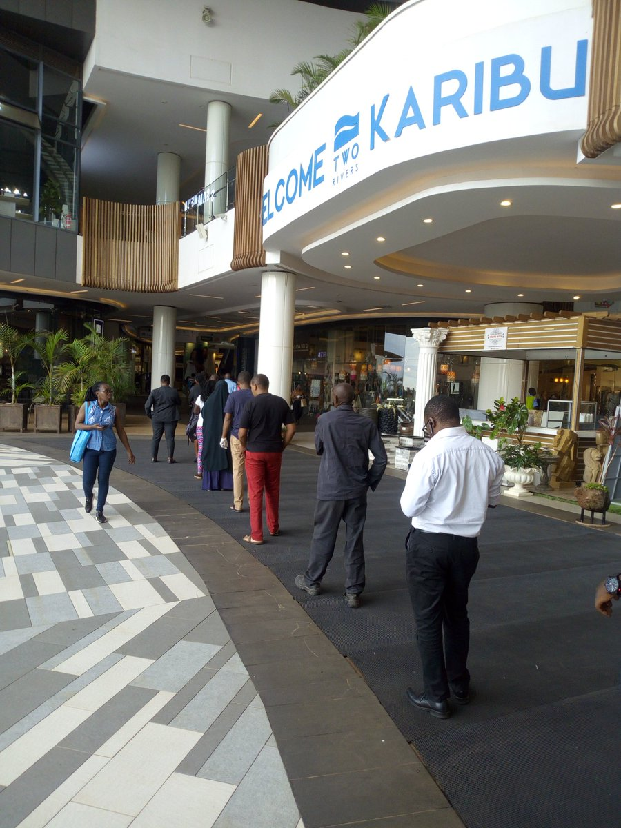 Observing 1.5M at @CarrefourKe @TwoRivers_KE #COVID19KE #Kenya