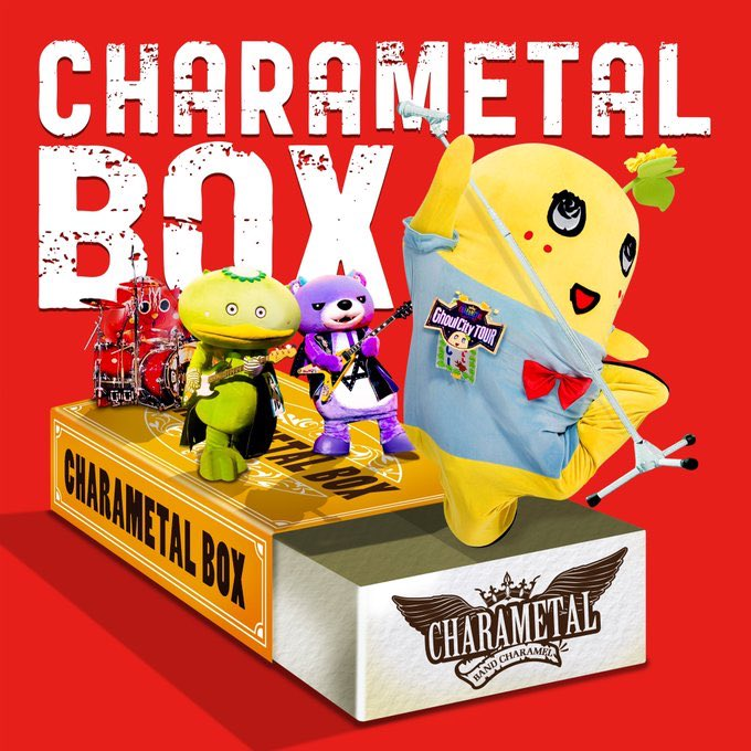 The all-mascot Japanese rock band, Charamel, release a new album Charametal Box, on 5/27.
