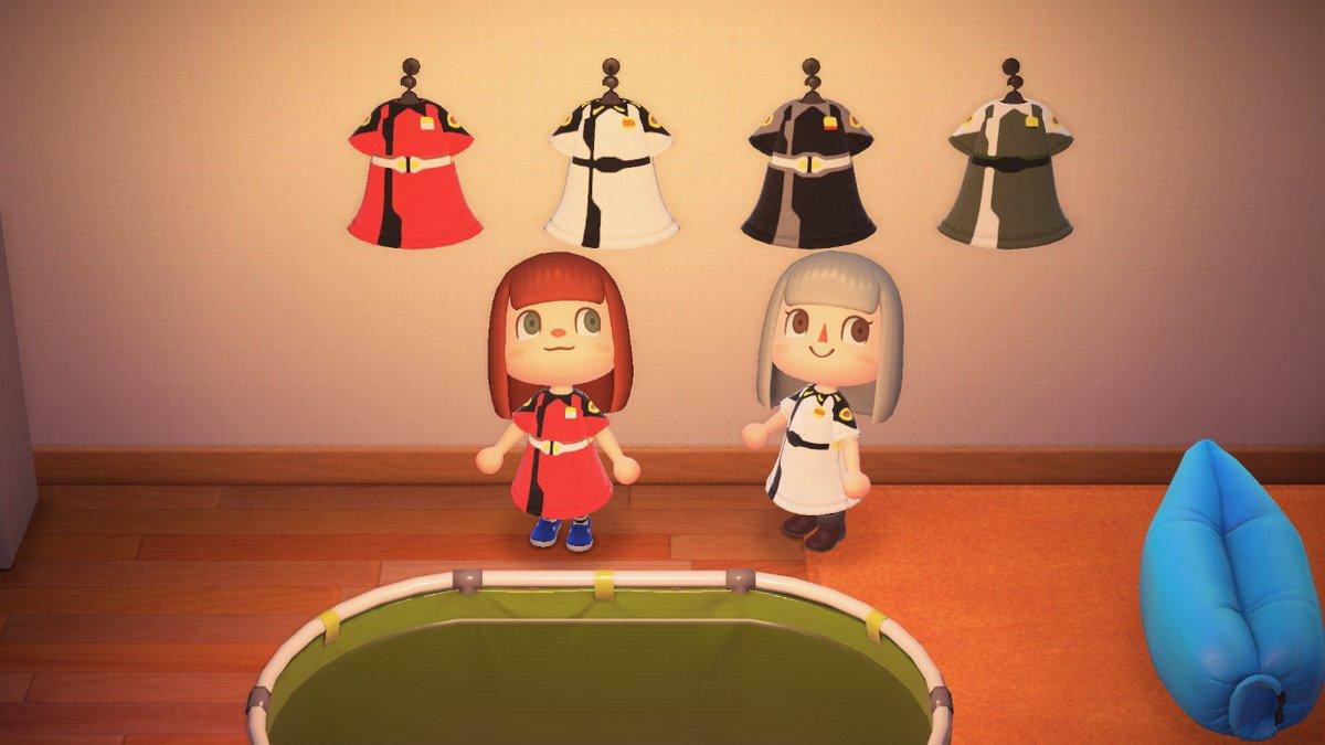 test ツイッターメディア - 姉が作ったガンダムSEEDの軍服です私が白髪なのでイザーク!!と叫ぶテンションハイな姉が怖かった。 #どうぶつの森 #AnimalCrossing #ACNH #NintendoSwitch https://t.co/fVz4EbuKtl