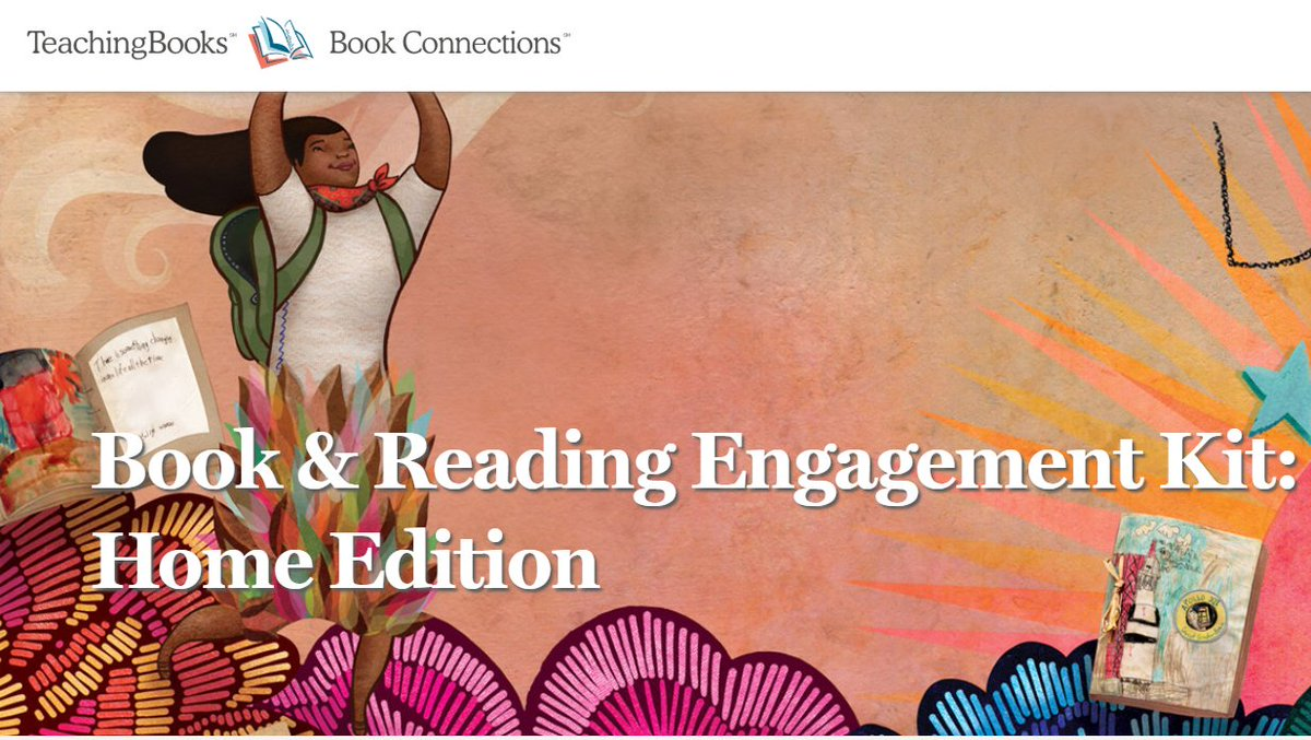 test Twitter Media - Need some virtual learning ideas? Enjoy this brand new Book and Reading Engagement Kit: Home Edition from TeachingBooks! Awaiting you are 172k+ resources that will enable readers to stay connected to their favorite books. https://t.co/SSXce7kuxf https://t.co/UnRabjZc7l