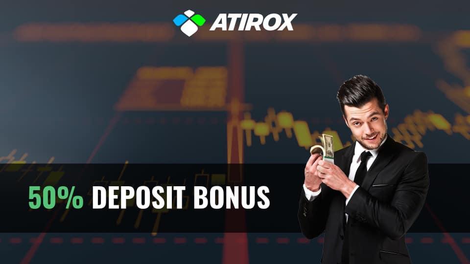 50% Deposit Bonus – Atirox