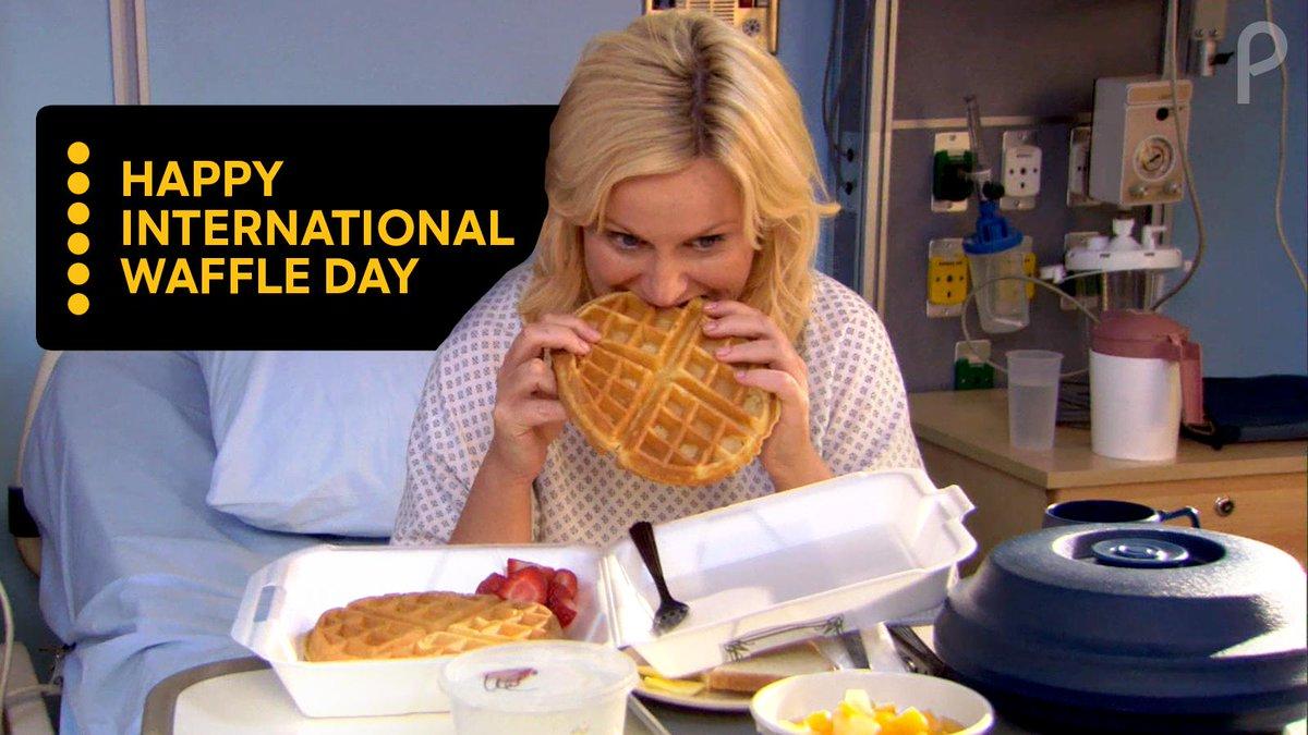 @peacockTV's photo on #InternationalWaffleDay