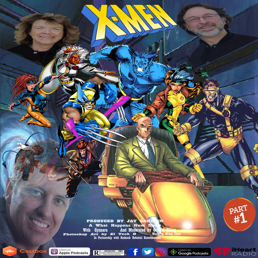 #WhatHappensNext Podcast   Listen on @Castbox_fm: https://castbox.fm/x/1zQGY   Featuring Eric & Julia Lewald (@xmentas), creators of X-Men: The Animated Series!    We talk all the juicy details on one the best pieces of 90's storytelling!    Don't miss it, BUB! #Podernfamilypic.twitter.com/SNWZQCaVsh