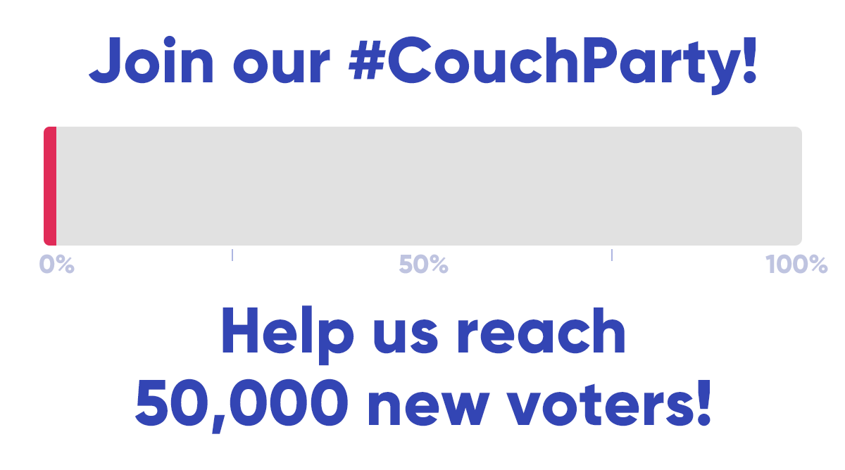 @WhenWeAllVote's photo on #CouchParty