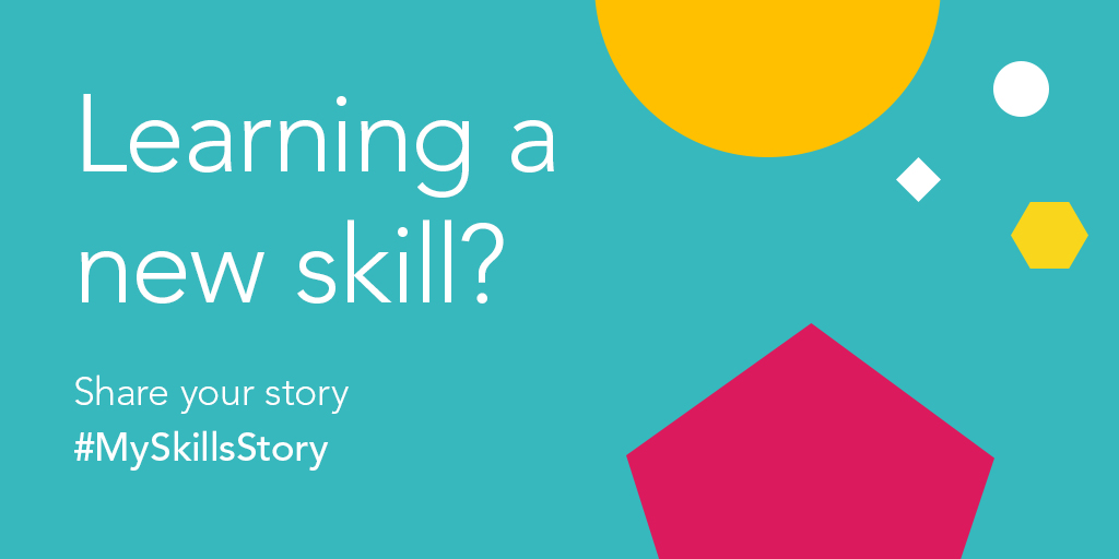 Were after positive stories to share! Let us know if youre learning a new skill at the moment - whether its to support your colleagues to meet changing demands, online learning, homeschooling your kids or skills around the house and garden. Get involved using #MySkillsStory