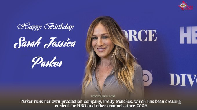 Happy Birthday Sarah Jessica Parker.