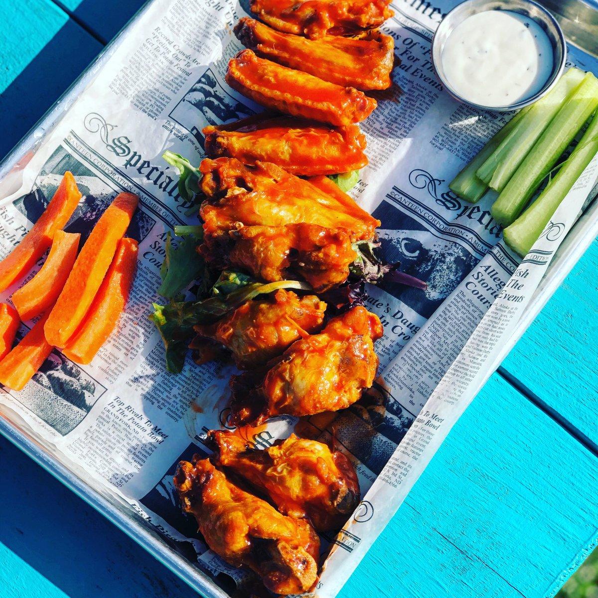 Wing Wednesday! $.60 wings! Orders of 10 or 20. BBQ, Buffalo, Jerk, Lemon Pepper, or Teriyaki.