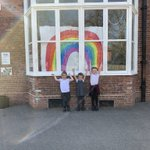 Image for the Tweet beginning: Our rainbow is up! See