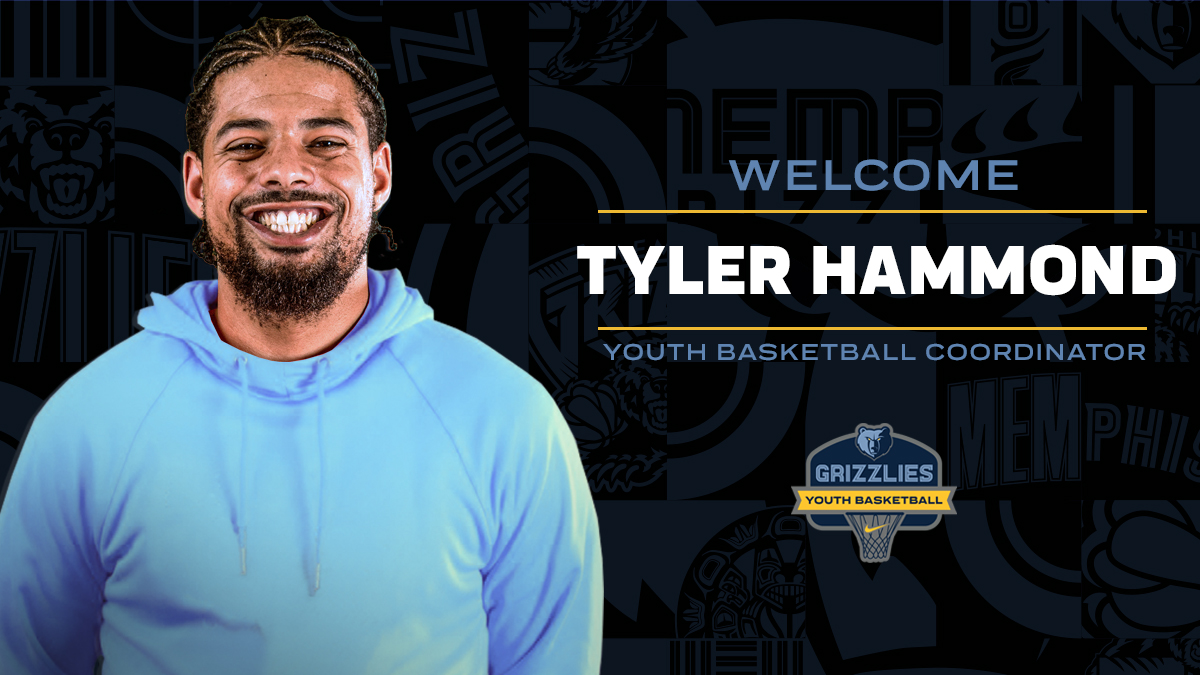 Happy to announce the addition of Tyler Hammond to our team!  AKA Coach Hamm, Tyler's a former college player/coach and a youth b-ball specialist. He'll help widen our @memgrizz footprint across the Mid-South & elevate our programs to yet another level.  Hit LIKE to welcome him! https://t.co/on97nHdN0k