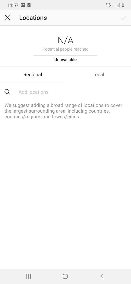 Instagram ad location