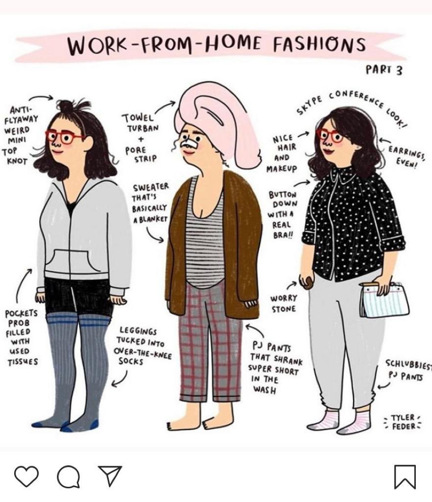 @jennyeclair New way of deciding what to wear to work 💄