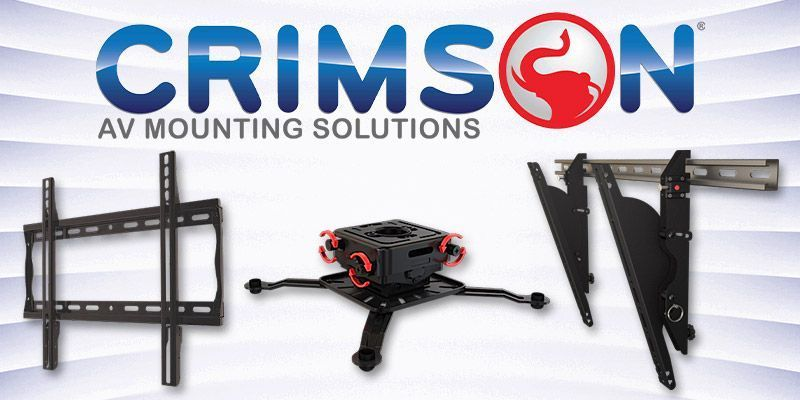 Looking for Flat Panel Mounts, Projector Mounts, Menu Board Brackets or even Full Rack Enclosures? Check out @CrimsonAV solutions here: https://buff.ly/3afAgIq #ProAV #AVInstall pic.twitter.com/ZBzr9ZIEHh