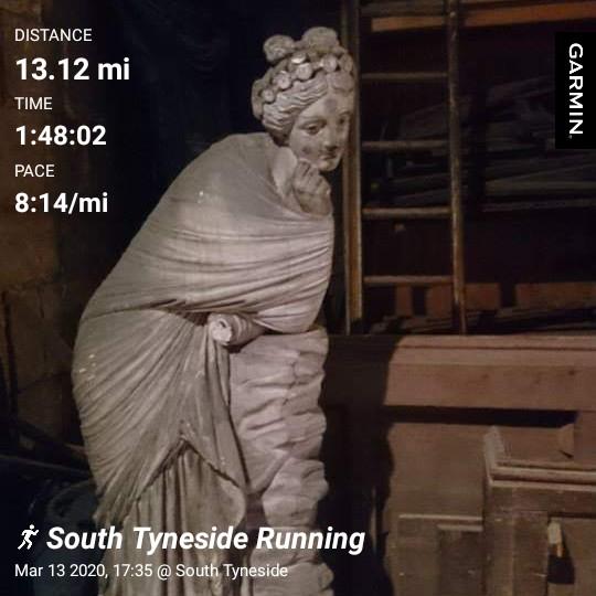 Easy #halfmarathon after a sedentary day in the office.  #ukrunchat #runthroughuk #runr #runningmotivation #loverunning #FridayFeeling #FridayMotivation #distancerunner #mentalhealthpic.twitter.com/F6LJZ5jg5A