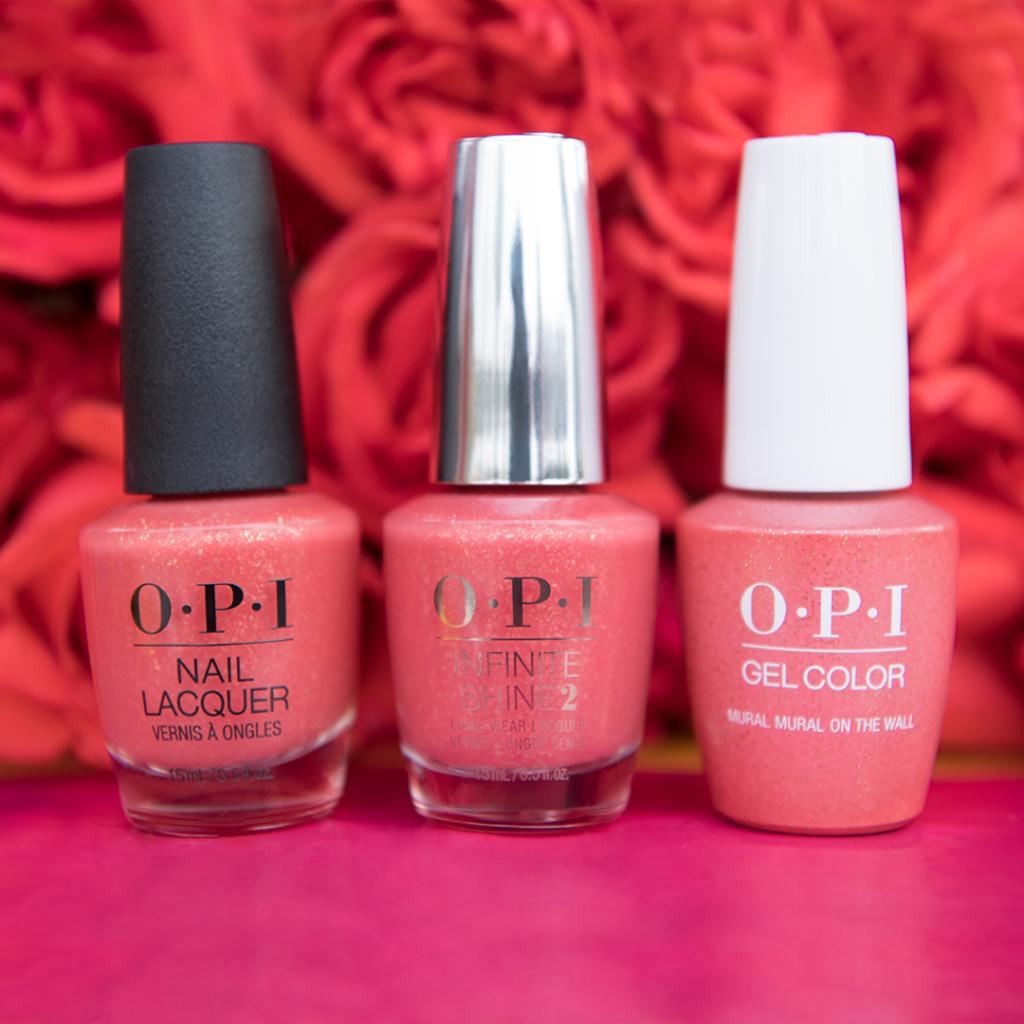 Happy days, also know as #springtime, are ahead! #MuralMuralOnTheWall #OPIMexicoCity #SpringNails #BrightNails #CoralNails #OPIObsessed #OPINailLacquer #OPIInfiniteShine #OPIPowderPerfection  Try this shade: http://bit.ly/2Wc08RUpic.twitter.com/BsCtzjU1Bl