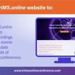 Image for the Tweet beginning: The #triMSonline conference provides an