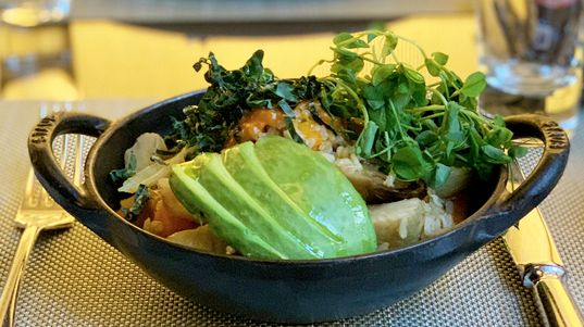 Enjoy one of our signature bowls on #TheGarden's brunch menu. From sweet to savory, you can choose one that fits your palate. To make reservations, please call 212-758-5700 or visit  https:// bit.ly/2SXFdzN     .   #weekendbrunch #fsnewyork<br>http://pic.twitter.com/HLctweYJHJ