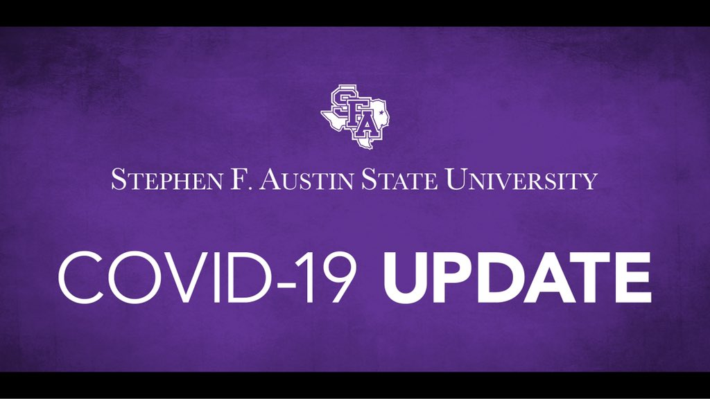 Hello, Lumberjacks. We appreciate the support and patience you have exhibited over the past few days.   We encourage you to stay up-to-date with information by checking your SFA email. You also can find helpful information at https://t.co/8o1gReJYAl. https://t.co/jDeaS8Vmkl