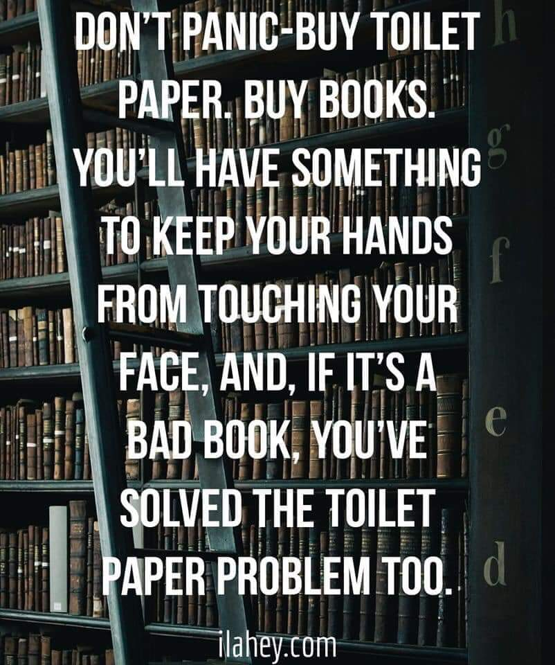 Book-ish (@Bookishcrick) on Twitter photo 13/03/2020 17:52:34