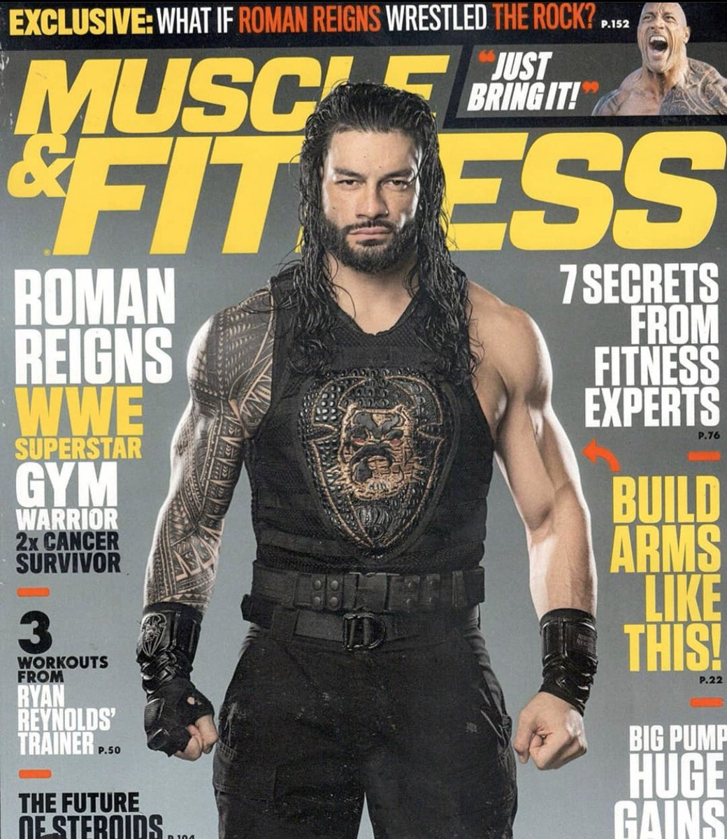 """Roman Reigns Checks Another Item Off His """"Bucket List"""" With Magazine Cover (Photos)"""