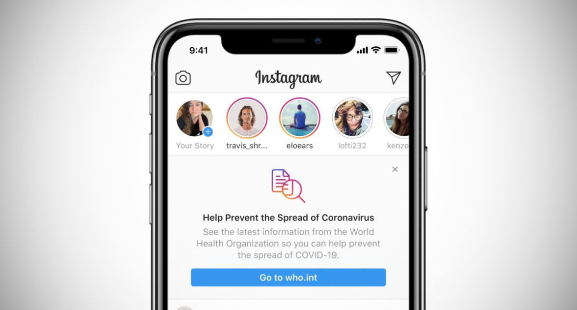 Instagram cracks down on coronavirus AR effects