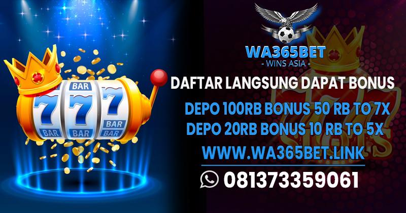 Slot Deposit Pulsa Tanpa Potongan Wa365bet Wa365bet Twitter