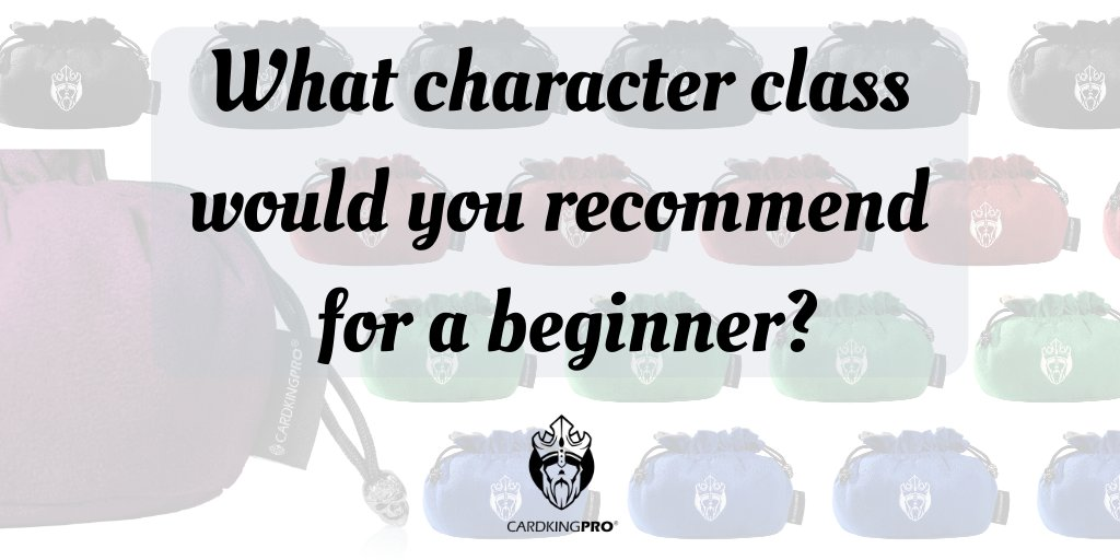 What character class would you recommend for a beginner? Comment below  Tag  your game pal  #dnd #rpg #boardgamegeek #dungeonsanddragons #dnd5e #fun #hobby #dungeonmaster #tabletoprpg #ttrpg #boardgamesofinstagram #boardgameaddict #tabletopgamer #dndcosplaypic.twitter.com/oKR1f1hY1B